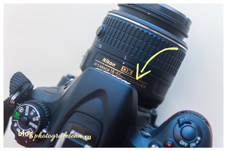 диафрагма фото на объективе