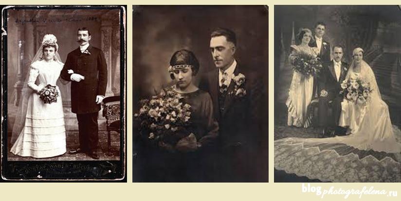 история фотографии свадебной