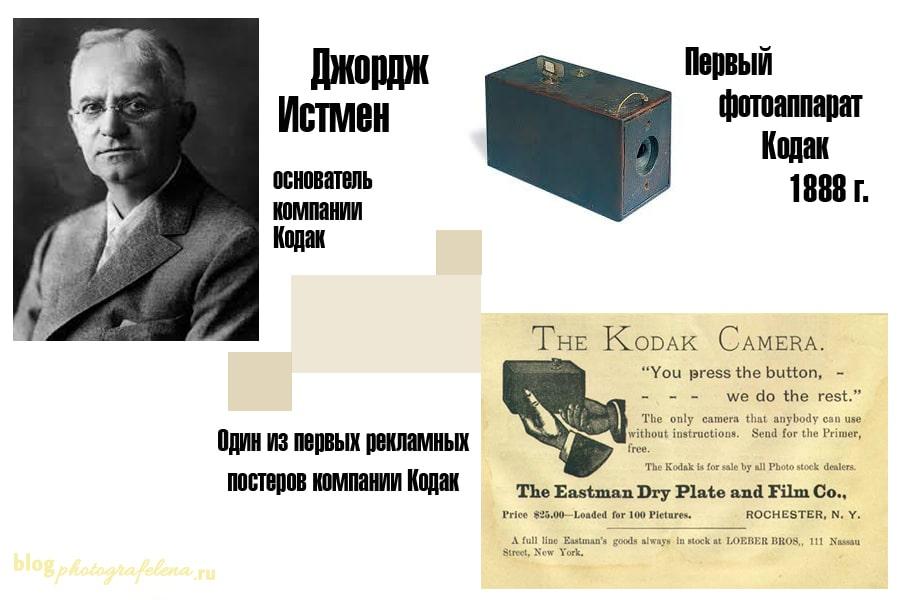 фотокамеры кодак история