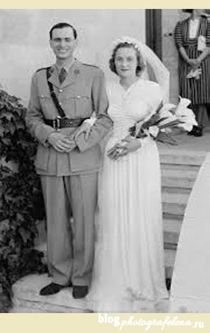 свадебная фотография 20 века