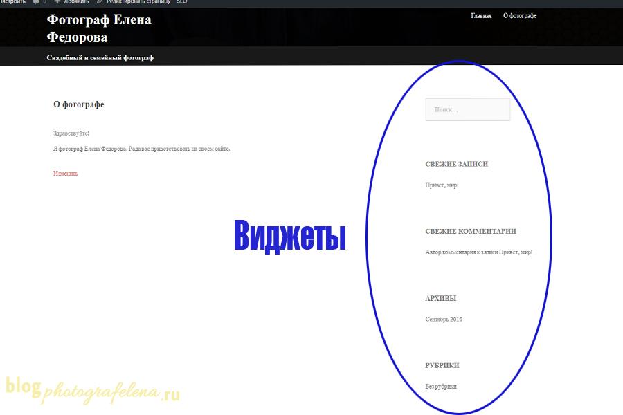 руководство по созданию вордпресс сайта
