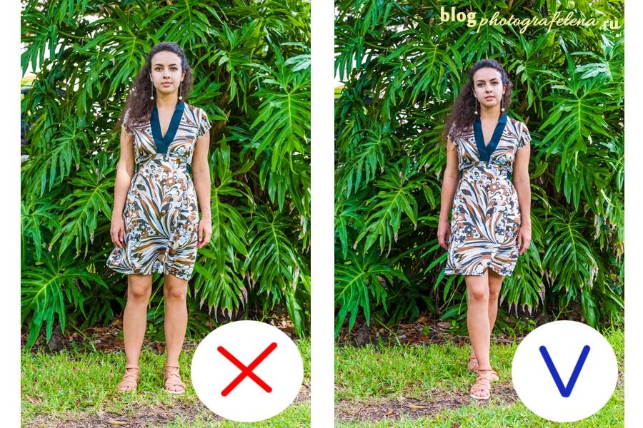как правильно позировать для фото