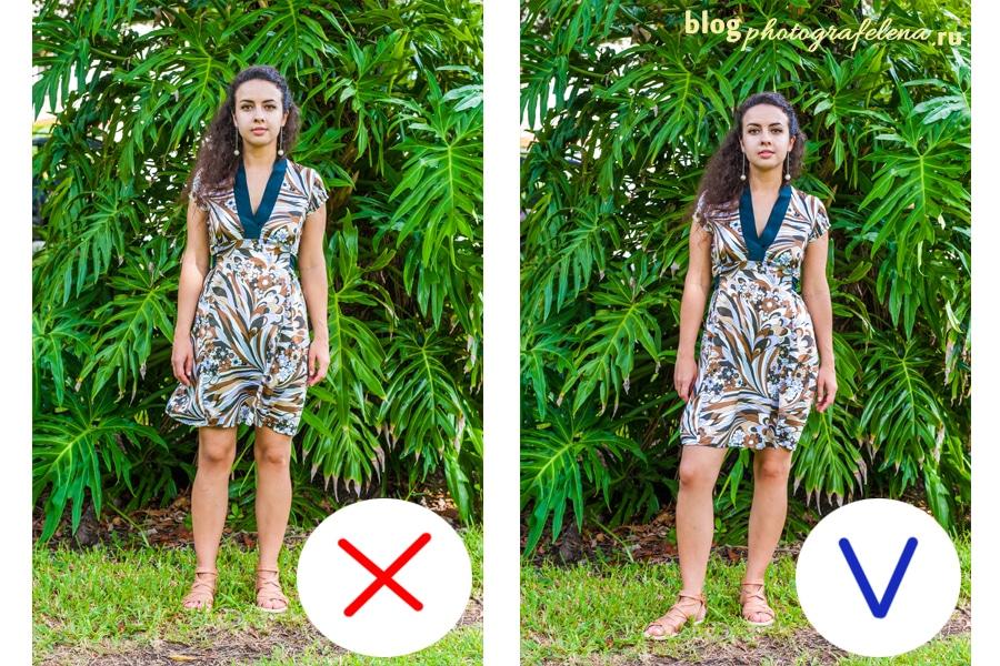 как правильно позировать на фото