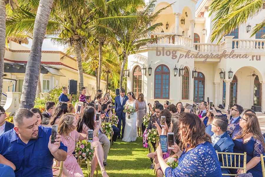 мобильные телефоны на свадьбах