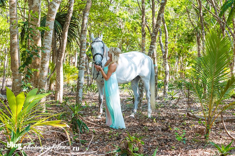 фотосессия с лошадью девушка