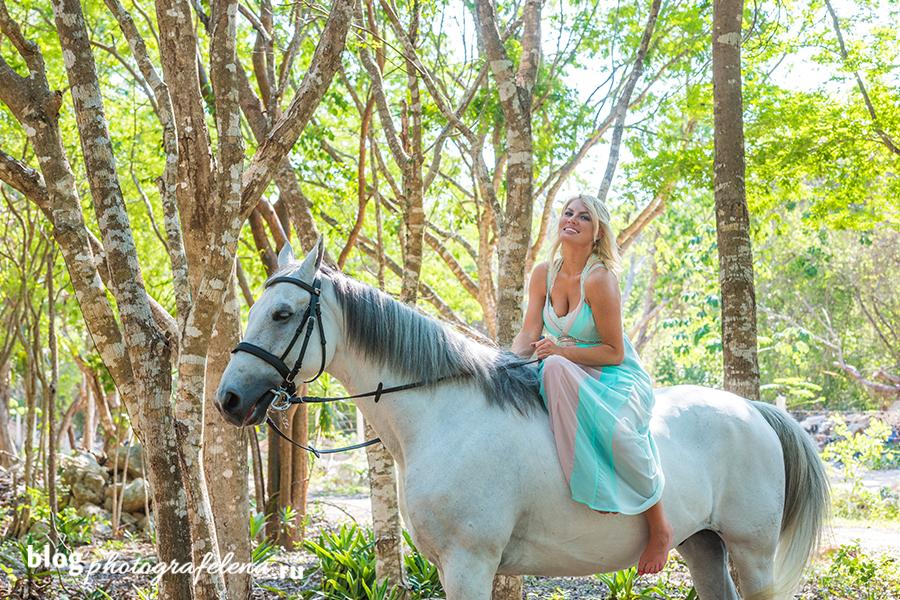 фотосессия верхом на лошади