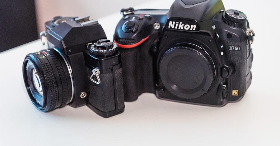фотоаппарат dslr и slr фотография